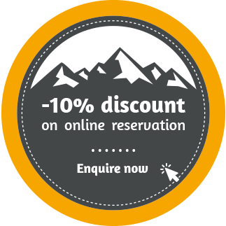 10% discount on online reservation
